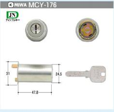 MIWA JN,PMKシリンダー(MCY-176)