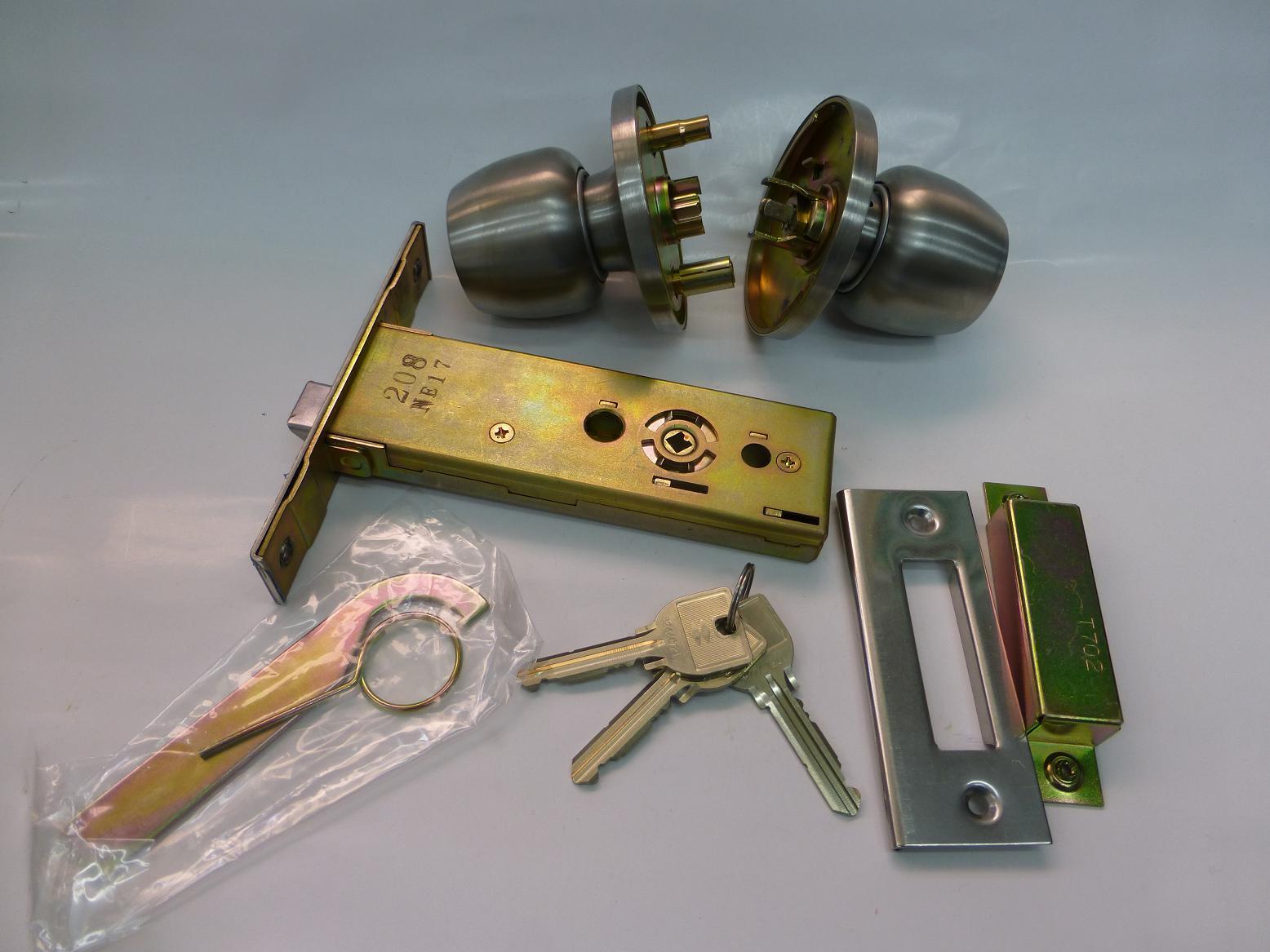 MIWA 握り玉錠 U9 145HMD-4 両面キー