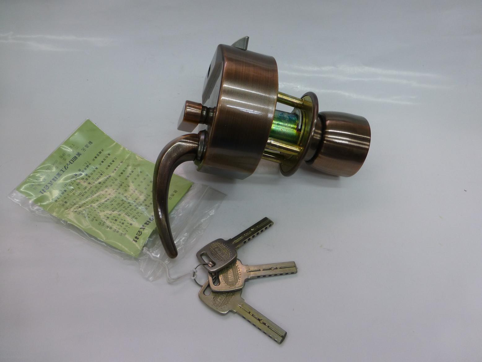 MIWA 本締錠 EC HPD-40KJ RK(ブロンズ)