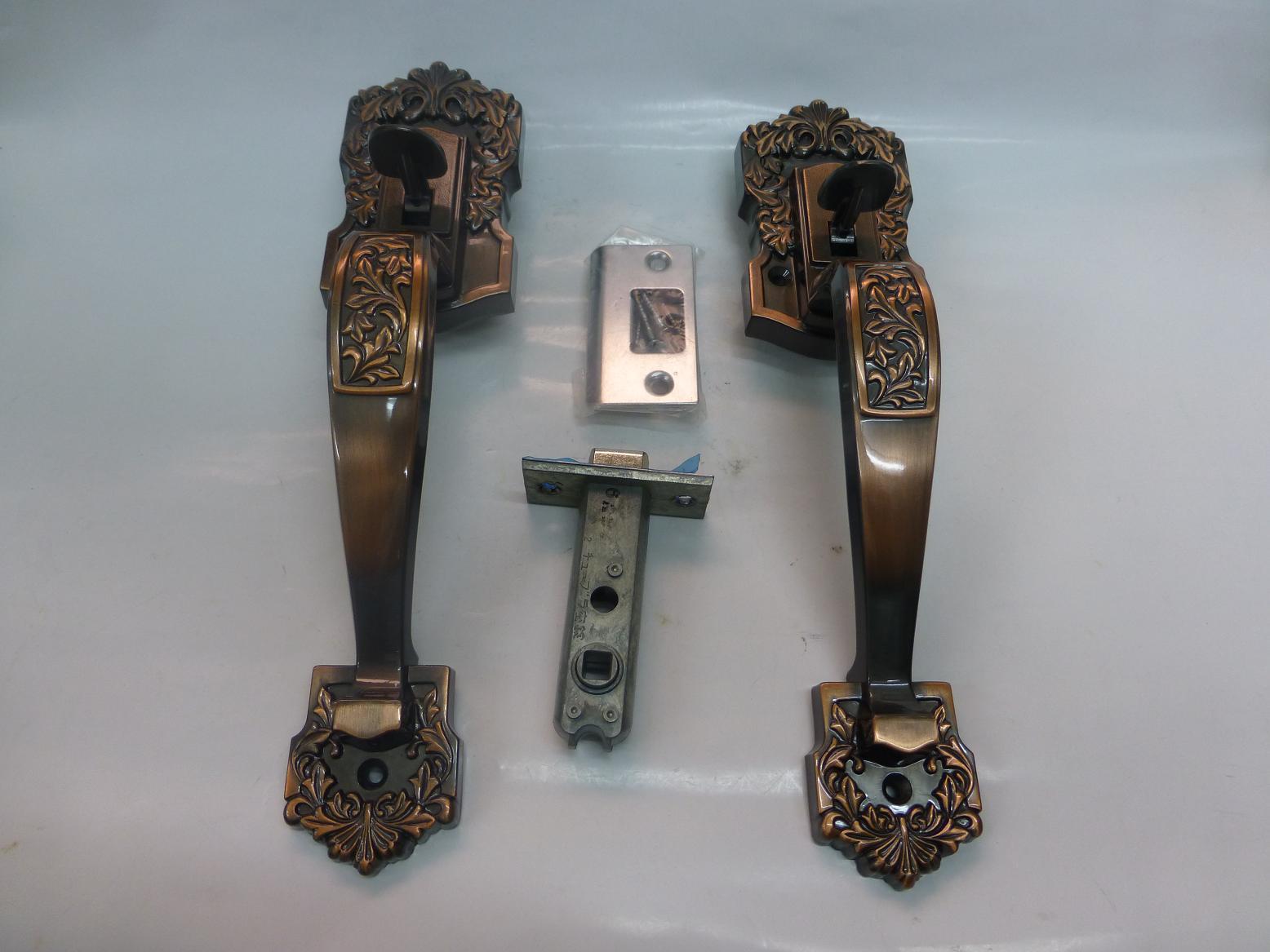 古代 本締錠 キャッスルジニア ドア厚30~40mm B/S60mm