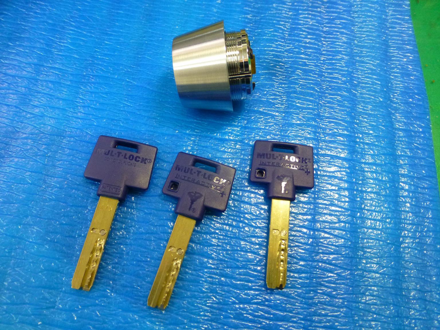 MIWA対応MARU-T-LOCK交換シリンダーSWLSPタイプ
