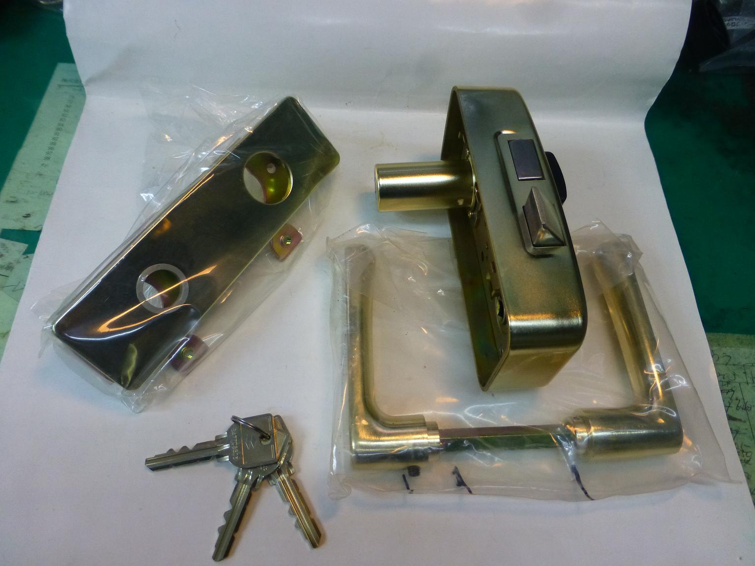 85RAと打刻 MIWA 本締り錠 レバーハンドル U9RAHPC-XB SALENEW大人気 全商品オープニング価格 GD ゴールド 左