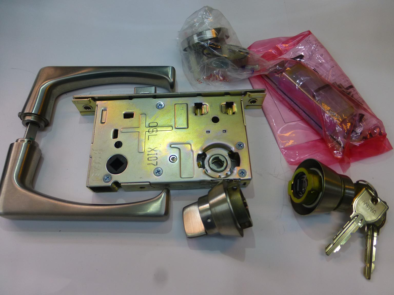 MIWA U9LA50レバーハンドルセット 64mm 33~42mm
