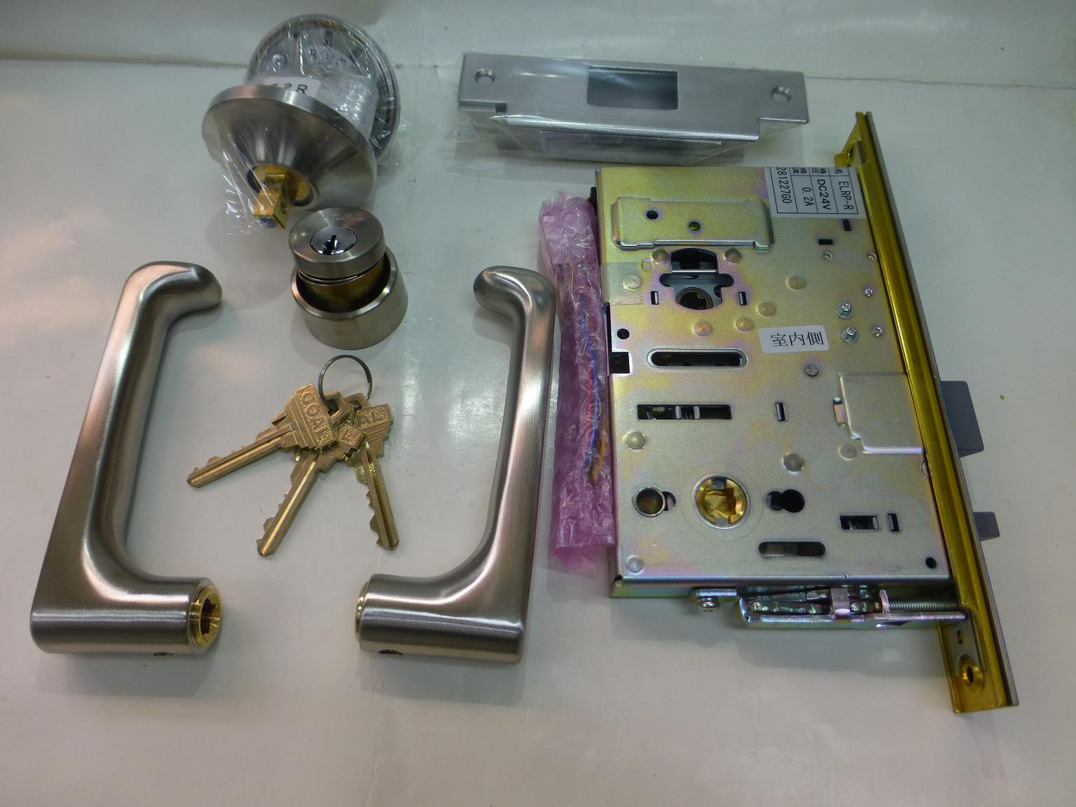GOAL 電気錠 P-ELRP7 TU11S 右 B/S76 ドア厚38~43