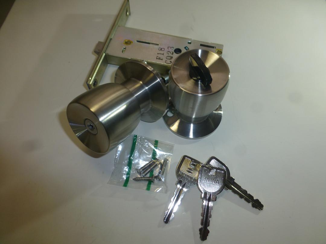 最新 SRZS MIWA 握り玉錠 WD4333 S100mm B 売り込み 28~34mm HBZSP