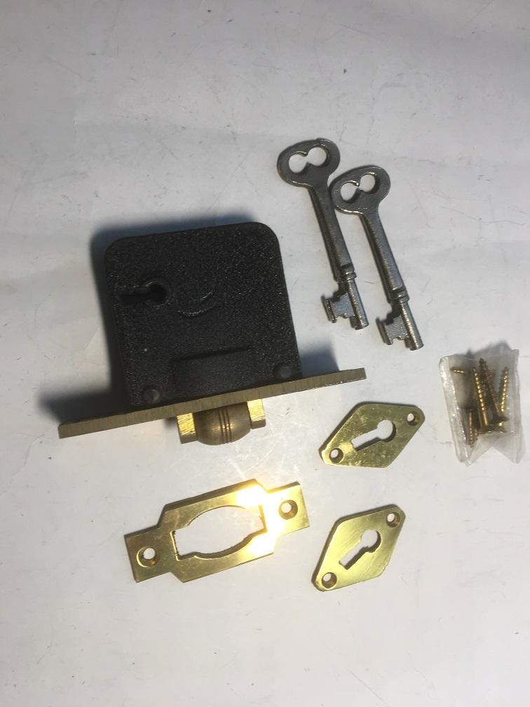 即納送料無料 フロント セール 24X94 アンテーク錠 CHICKY B 車付き S38mm