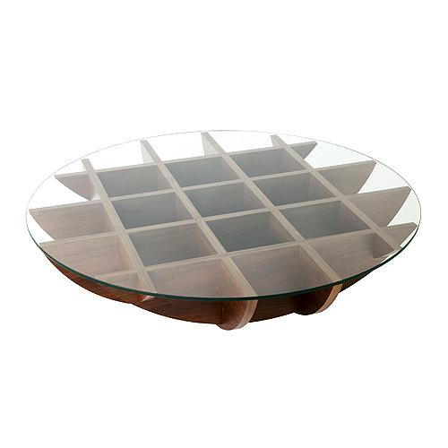 アジム AJIM イソラ テーブル / AJIM isola table / リビング 食卓 ローテーブル 丸テーブル ガラステーブル 木の温もり おしゃれ デザイナーズ家具 /, ロックビューティー:58f36204 --- jpsauveniere.be