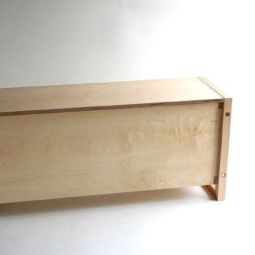 オー Eau ラム 貯蔵ベンチ/収納ベンチ / Eau L@MB /大容量 組み立て簡単 子供部屋 おもちゃ箱 ベンチ