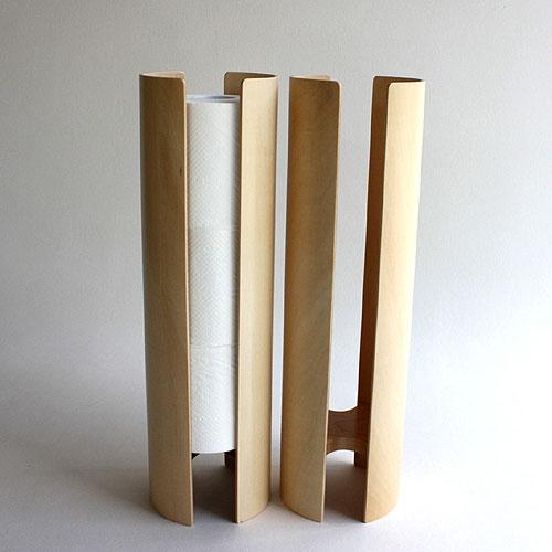 Eau Eau chili Kabu Eau KIRIKABU toilet paper storage wooden Naito Tomoyasu  design toilet supplies Maple /