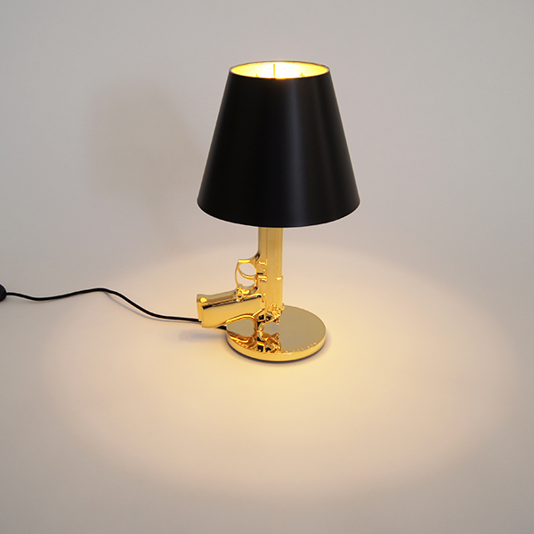 Floss bedside cancer flos bedside gun table stands light import illumination philippe starck