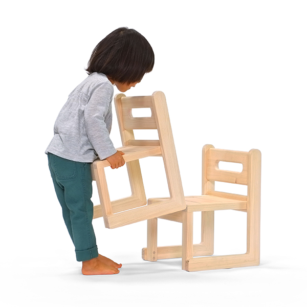 Keyplace: S D Eye Fantasia Morito Chair! I Deliver It By / Home Delivery. /  MORITO / Stacking Possibility Village Kazuaki Sawa Design Natural Child  Chair ...