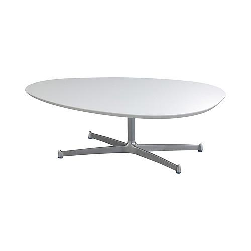 スウィッチ SWITCH エッグ リビングテーブル UVコート /高さ:35cmタイプ / EGG Living Table UV Coat/ 日本製 北欧 モダン カフェ風 おしゃれ テーブル 楕円 高さ調節 ミッドセンチュリー