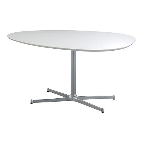 スウィッチ SWITCH エッグ ダイニングテーブル UVコート / 高さ:71cmタイプ / EGG Dining Table UV Coat/ 日本製 北欧 モダン カフェ風 おしゃれ テーブル ダイニング 楕円 高さ調節 ミッドセンチュリー