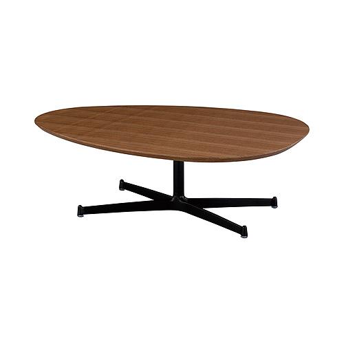 スウィッチ SWITCH エッグ リビングテーブル ウォールナット / 高さ:35cmタイプ / 送料無料/EGG Living Table Walnut/ 日本製 北欧 モダン カフェ風 おしゃれ 木製 楕円 高さ調節 ミッドセンチュリー