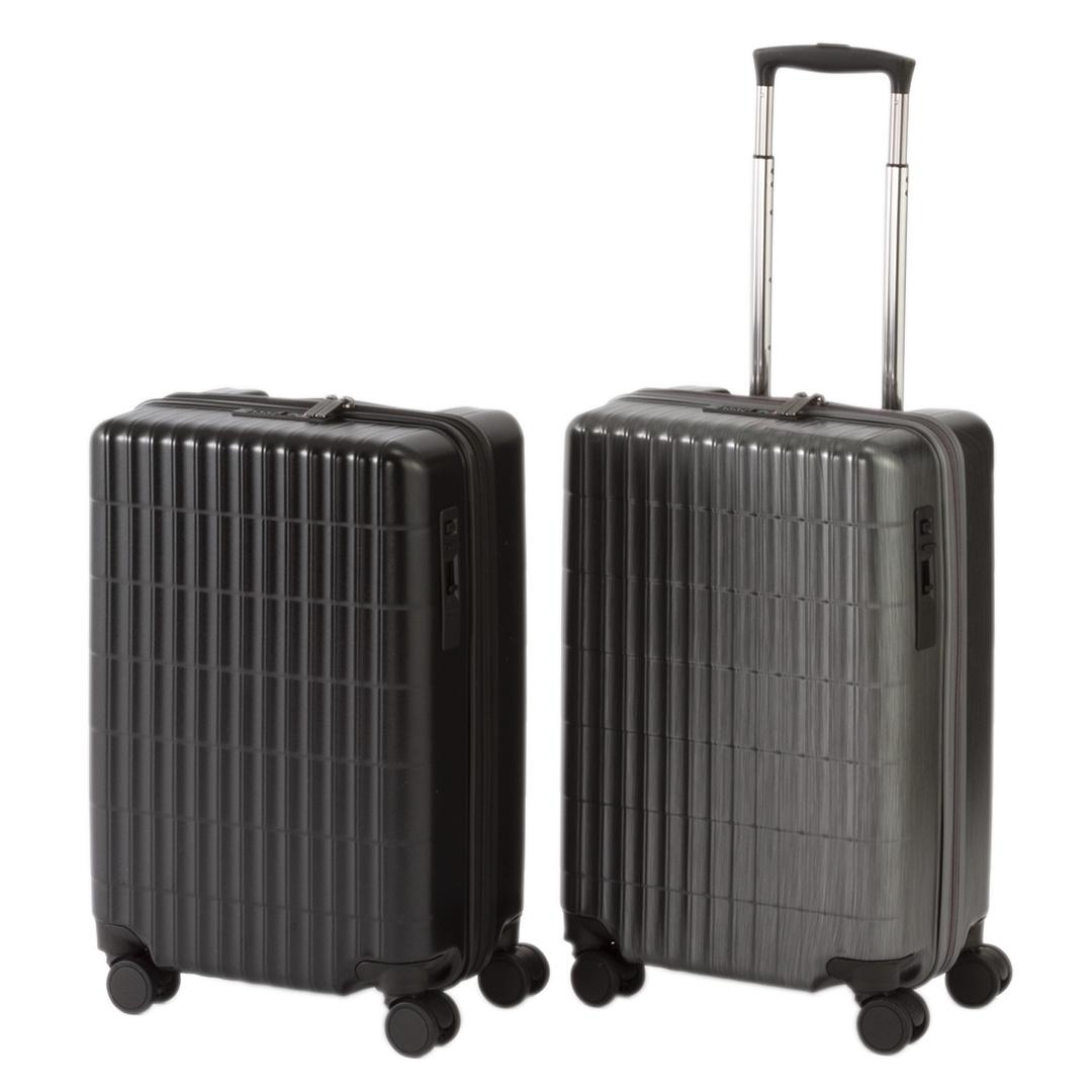 アクティブに飛び回る、ビジネスパーソンに。 KEYUCA(ケユカ)Grarif スーツケース 34L [キャリーバッグ ラゲージバッグ 機内持ち込み可能 旅行 2泊 3泊 出張 軽量 TSロック付き 前輪ストッパー ビジネス おしゃれ トラベルバッグ シンプル モダン キャリーケース 通販 ]