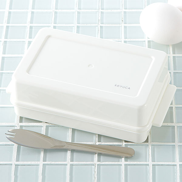 ガイドが付いているから 宅送 計量いらずのバターケースです KEYUCA ケユカ バターケース スピード対応 全国送料無料 カットガイド付 オシャレ シンプル 日本製 デザイン おしゃれ モダン