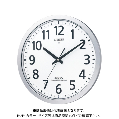 シチズン 電波掛時計 スペイシーM462 8MY462-019