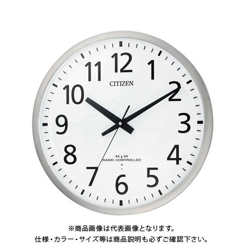 シチズン 電波掛時計 スペイシーM463 8MY463-019