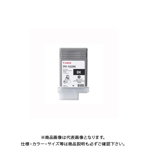 日本製 キヤノンマーケティングジャパン 返品交換不可 インクタンク PFI-102BK