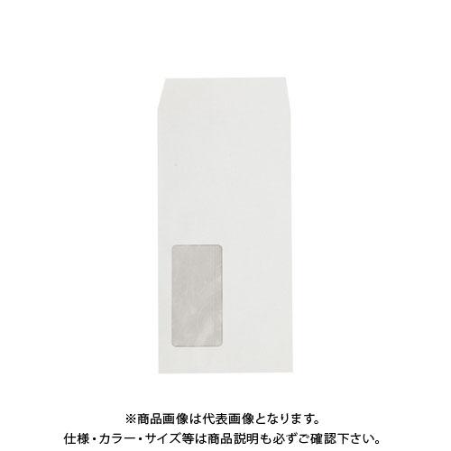 壽堂紙製品工業 マド付封筒長3ハーフトーン99透けない白 31470