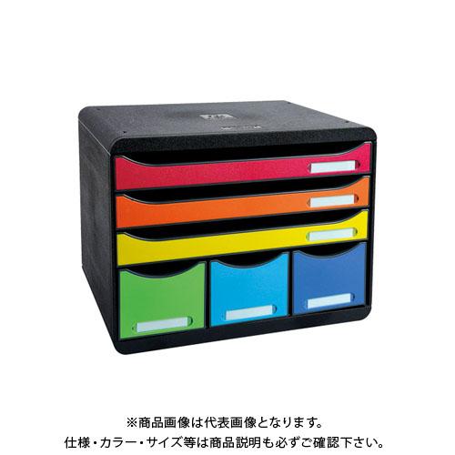 ビッグボックスプラスA4横3段+小物ポケ 306798D エグザコンタ