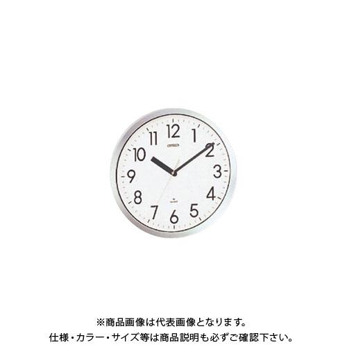 シチズン 電波掛時計 スペイシーM522 4MG522-050