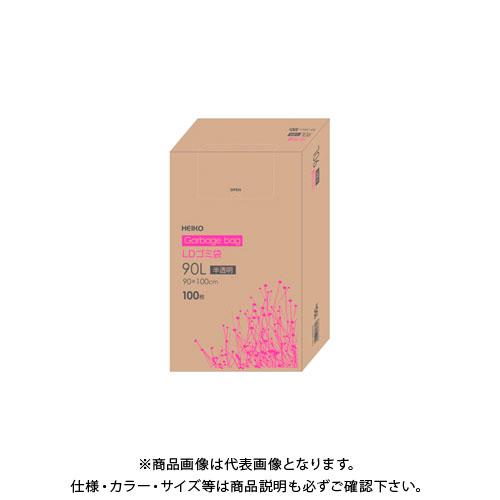 NEW 2018 シモジマ LDゴミ袋 箱入 90L 006605305 040 定番キャンバス 半透明 いよいよ人気ブランド