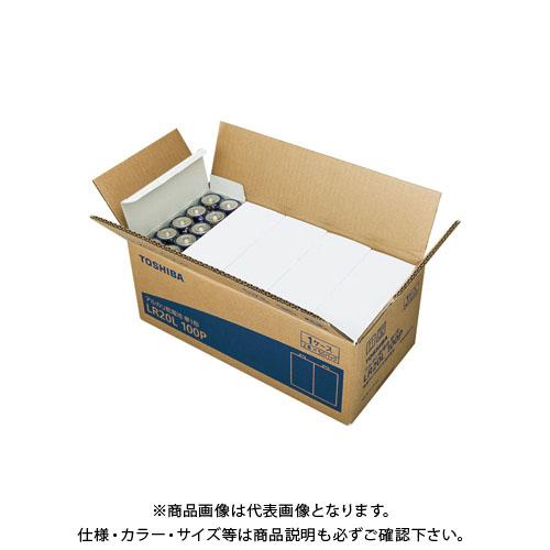 東芝 アルカリ乾電池 単一 100本パック LR20L 100P