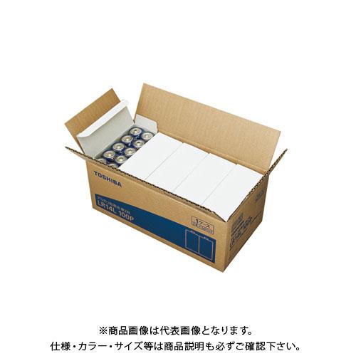 東芝 アルカリ乾電池 単二 100本パック LR14L 100P