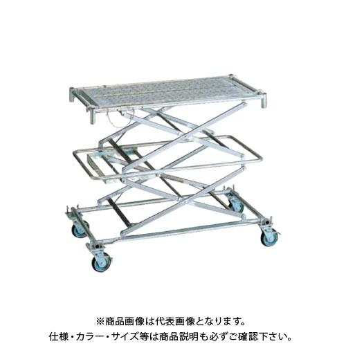 【直送品】アルインコ ALINCO 折りたたみ式伸縮足場(フジステージ) FS-145