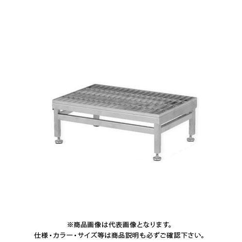 【直送品】アルインコ ALINCO ステンレス製グレーチング作業台 SUC SUC-604S