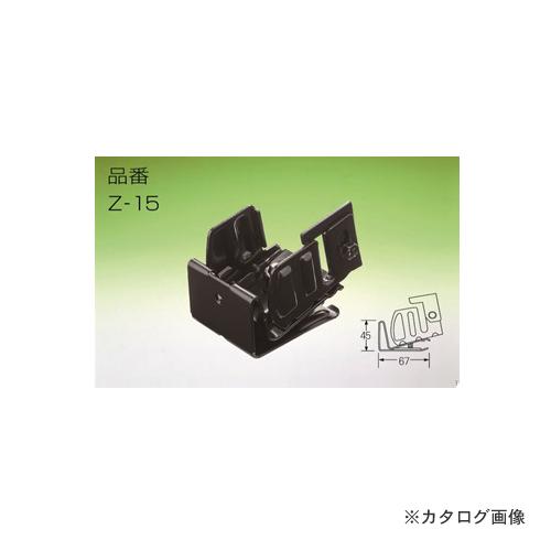 河井工業 きたぐATグリップアングル用 (ツイン) 67mm 高耐食メッキ鋼板 70個 Z15-040