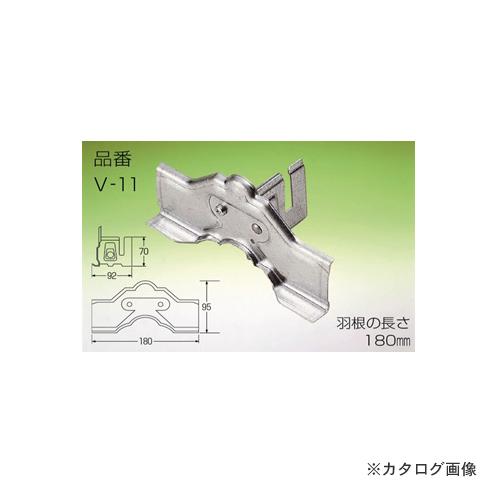野島角清製作所 雪国 立平 (小) 1本止 180mm SUS304 ブラウン 30個 V11-052