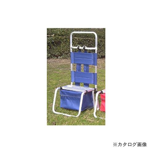 【運賃見積り】【直送品】ミツル アルミ製(背負子) 青