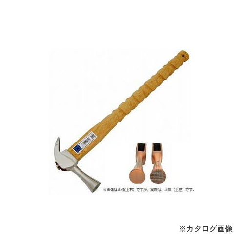 マルキン印 仮枠ハンマー 銀 止無 小 SY式 450M/M