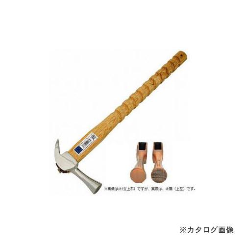 マルキン印 仮枠ハンマー 銀 止無 小 ラセン 450M/M