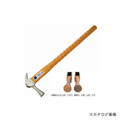 マルキン印 仮枠ハンマー 銀 止無 小 ラセン 600M/M
