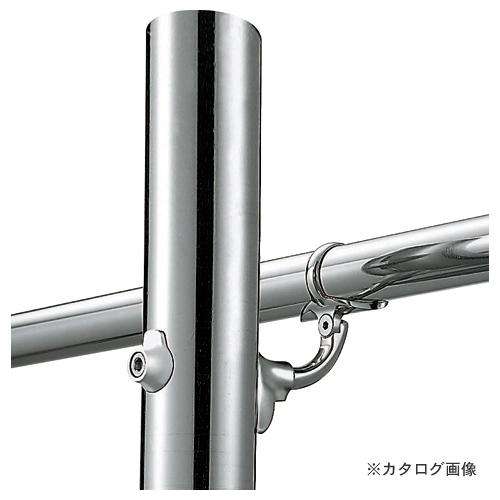 浅野金属工業 V400 自在L型 Pブラケット 継手タイプ (鏡面) φ38 AK41839M