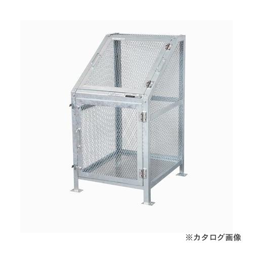 【運賃見積り】【直送品】グリーンライフ メッシュゴミ収集庫 KDB-600N