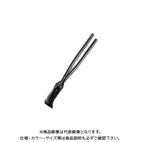 ツボタ 種光 (黒染)口厚薄口 掴箸30 8805