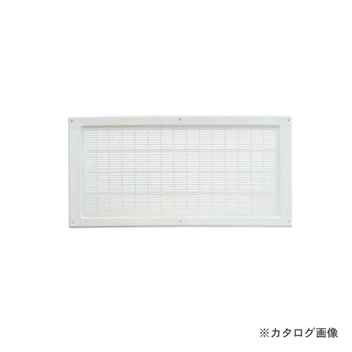 """カネシン 軒裏換気口""""Wタイプ""""ホワイト (20枚入) LN-225W"""