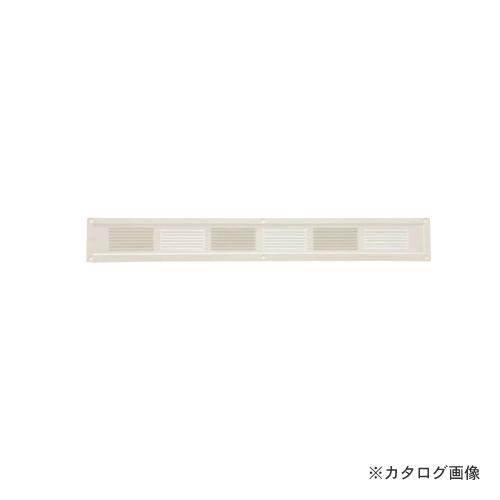 カネシン スーパースリム軒裏換気口 ハーフタイプ アイボリー (20枚入) SS-45