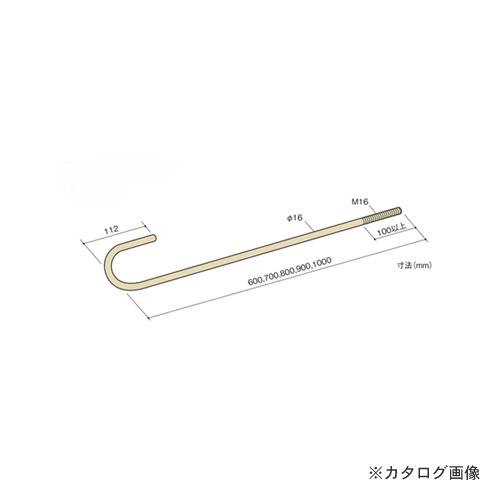 カネシン アンカーボルト (10本入) M16×900