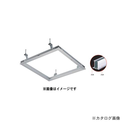 【運賃見積り】【直送品】カネシン シーリングハッチ(アルミシルバー) (10台入) CFZ360