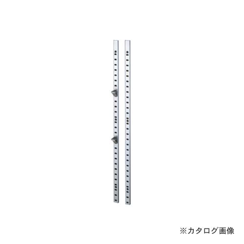 【運賃見積り】【直送品】カネシン ステンレス棚柱 (60本入) SP-1820