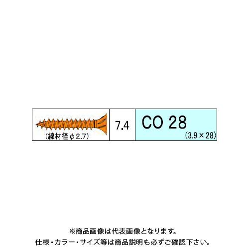 ダンドリビス コンパネ用 CO 5710本入 徳用箱 V-COX028-TX