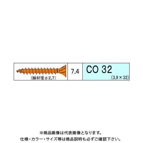 ダンドリビス コンパネ用 CO 4940本入 徳用箱 V-COX032-TX