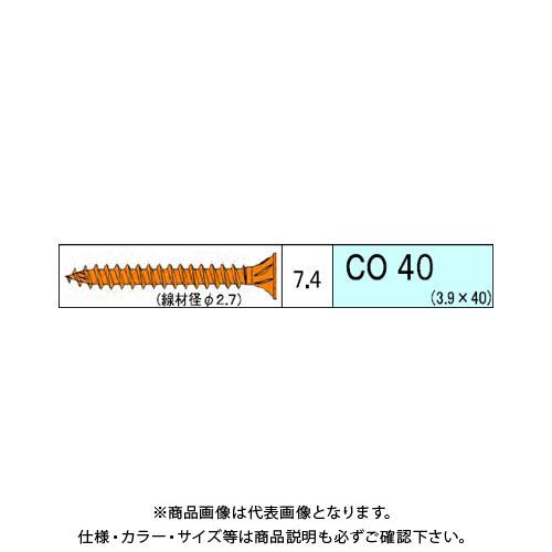 ダンドリビス コンパネ用 CO 4060本入 徳用箱 V-COX040-TX