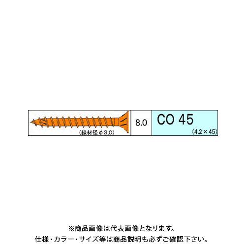 ダンドリビス コンパネ用 CO 2980本入 徳用箱 V-COX045-TX