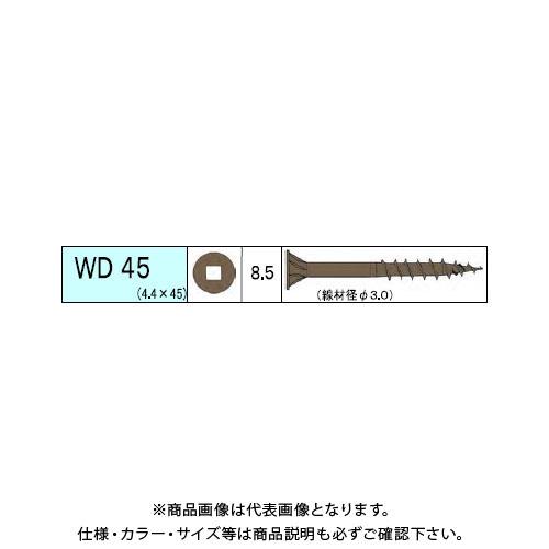 ダンドリビス ウッドデッキ材用ビス WD 3340本入 徳用箱 V-WDX045-TX